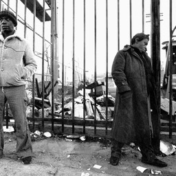 Cold Day in Skid Row, Los Angeles 1980s