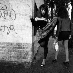 Central Avenue Hookers, Skid Row, Los Angeles 1983