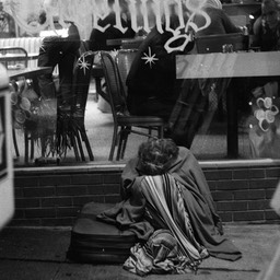 Hungry and Cold, Skid Row, Los Angeles 1980s