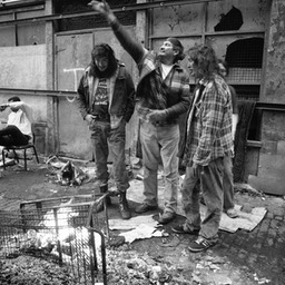 Native American Death Song, Skid Row, Los Angeles 1980s