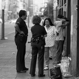 Profiling Amercan Indians, Skid Row, Los Angeles 1980s