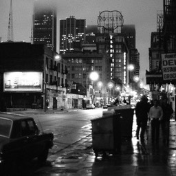 5th St. The Nickel, Night, 1980s